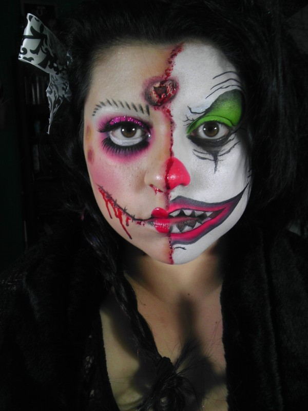 two-face-dollclown