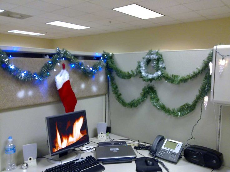 Decorate The Office For Christmas